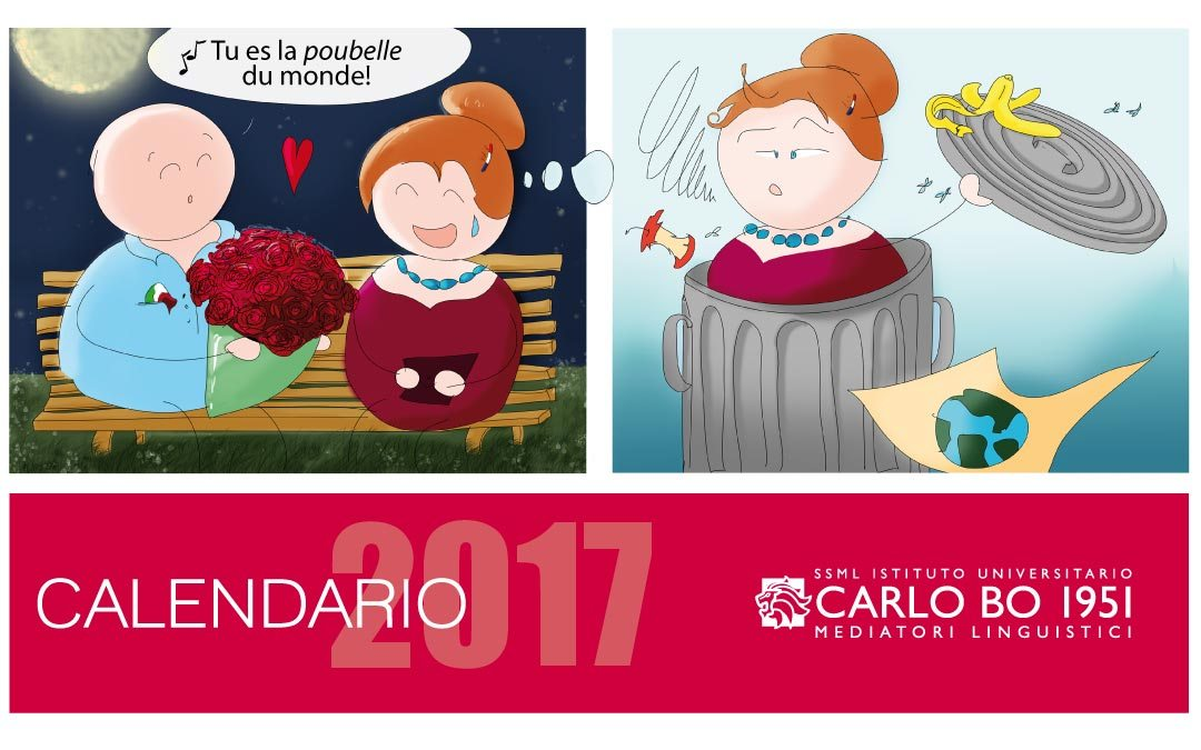 False friends & Co:scarica il calendario 2017 dei falsi amici!