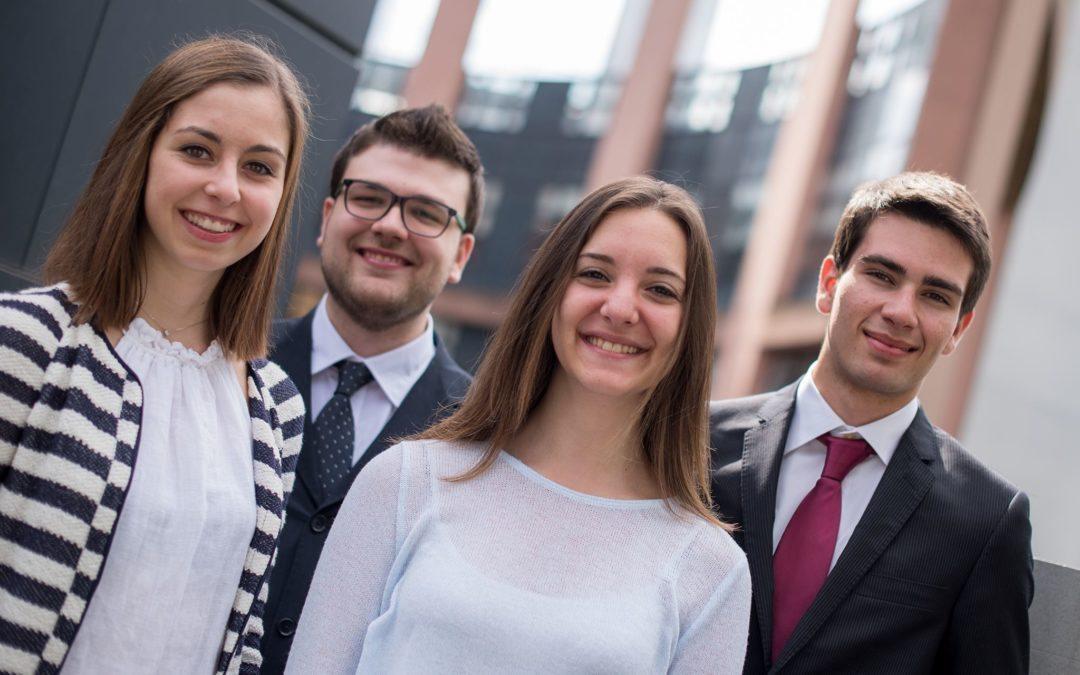 Dalla SSML Carlo Bo di Roma al Parlamento europeo: Francesco ha realizzato un sogno!