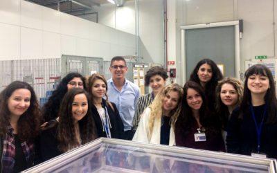 Gli studenti SSML Carlo Bo a lezione da Bosch per una full immersion nel linguaggio automotive.