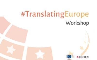 Seminario #TranslatingEurope alla SSML Carlo Bo di Roma